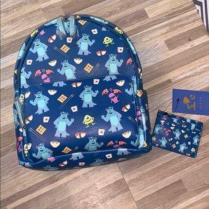 Danielle Nicole Pixar monsters inc sushi backpack!